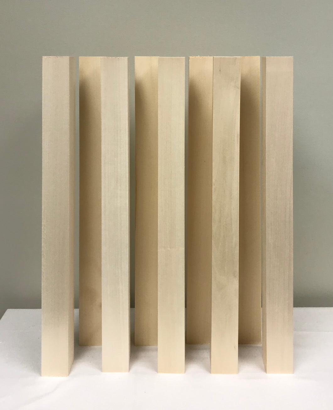 Basswood Carving Blocks (18) 2' x 2