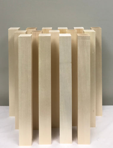 Basswood Carving Blocks - (15) 2