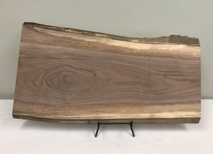 Walnut Live Edge Slab - Sanded
