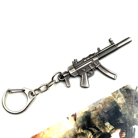 MIGHTY SILVER MP5 Keychain