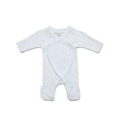Marquise Premmie Wrap Footed Growsuit Blue