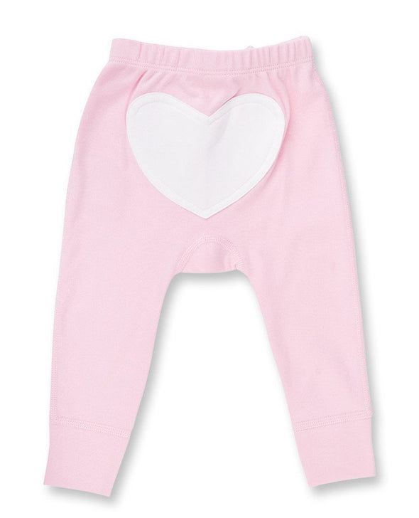 Rose Pink Heart Pants