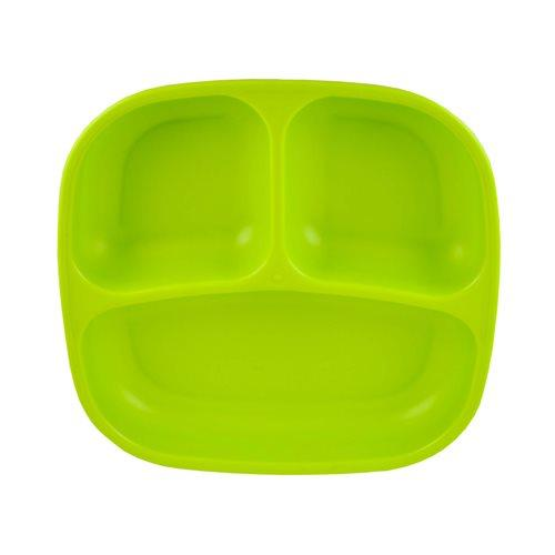 Replay Divided Plate Green