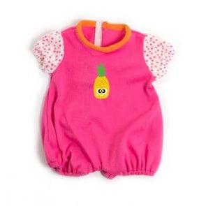 Miniland Clothing Pink Pineapple Romper 38-42cm