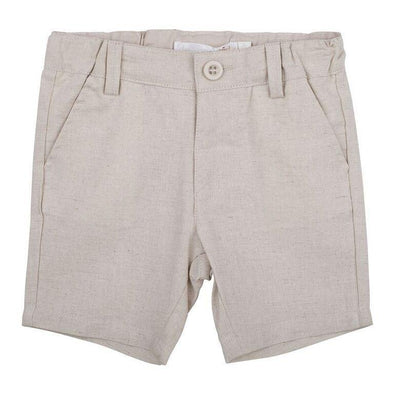 Toby Linen Shorts Sand
