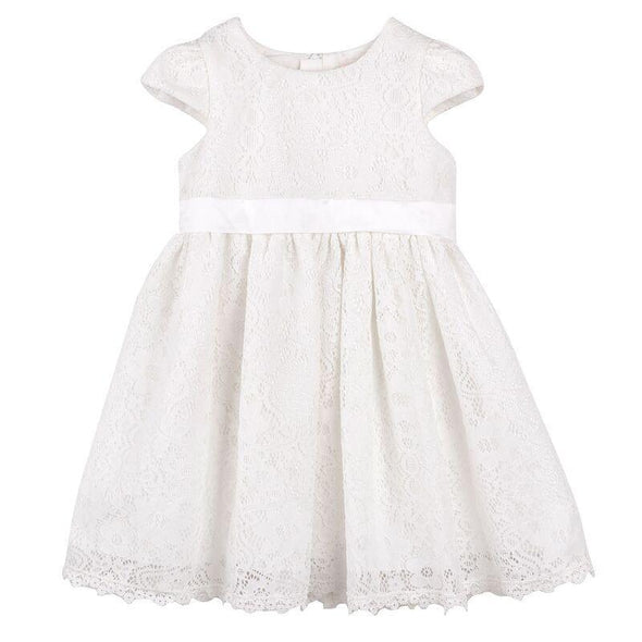 Madison Christening Dress Ivory