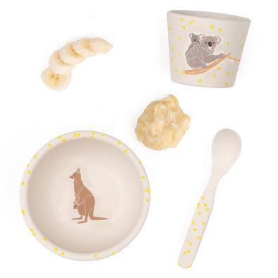 Love Mae Baby Feeding Set Australiana