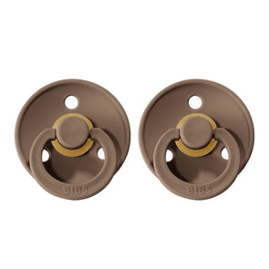 BIBS Pacifier 2pk Dark Oak Size 2