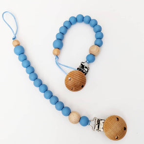 Scandi Dummy Chain Blue