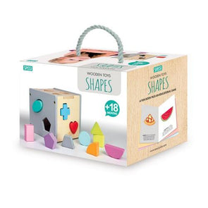 Sassi Wooden Sorting Box & Book Shapes