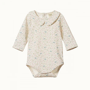 Nature Baby Posy Bodysuit Sweet Pea