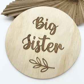 Timber Tinkers Big Sister Botanical Disc