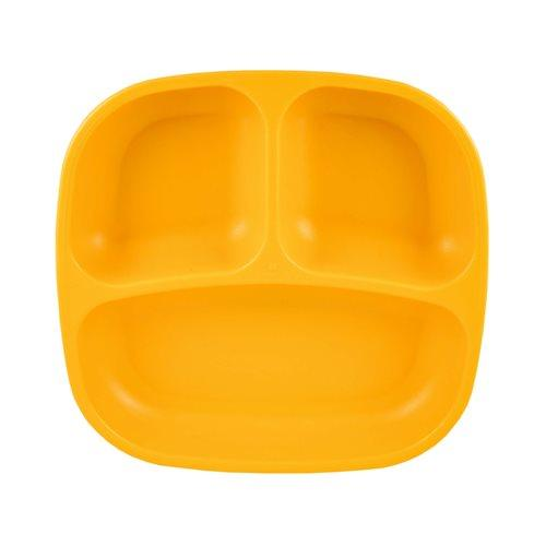 Replay Divided Plate Sunny Yellow