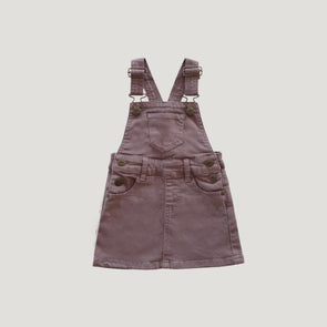Jamie Kay Chloe Denim Overall Dress Periwinkle