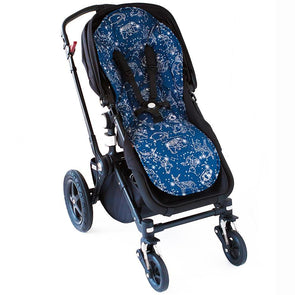 Bambella Designs Pram Liner Navy Constellation