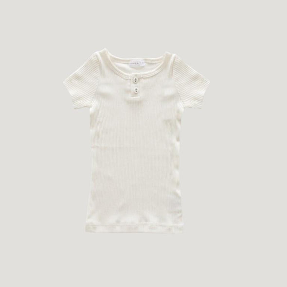 Jamie Kay Cotton Modal Tee Milk