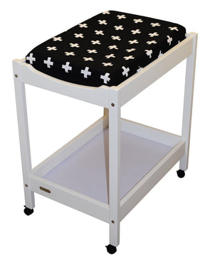 Change Mat Table Cover Black Cross