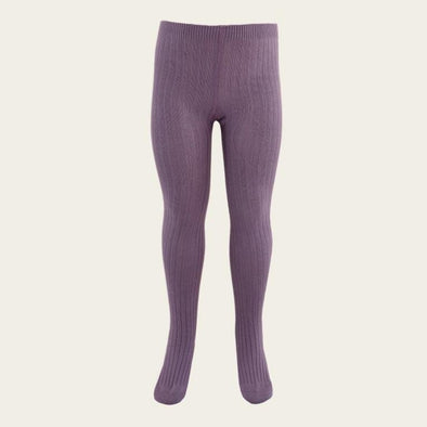 Jamie Kay Ribbed Tights Blueberry