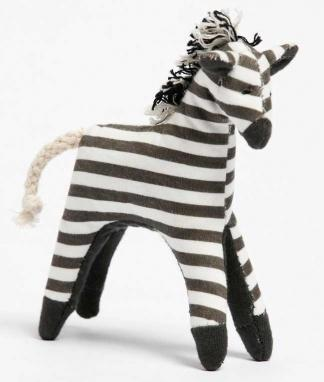 Mini Zebra Baby Rattle