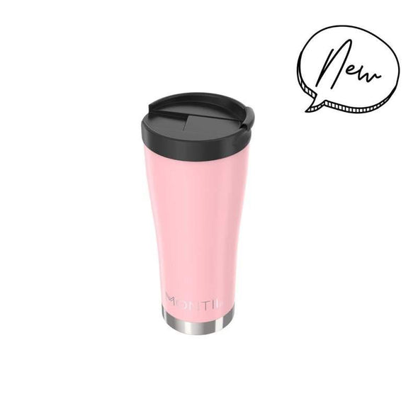 MontiiCo Hot Stuff Reusable Coffee Cup Dusty Pink