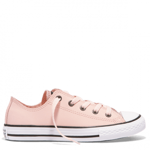 Converse Junior All Star Glitter Storm Pink