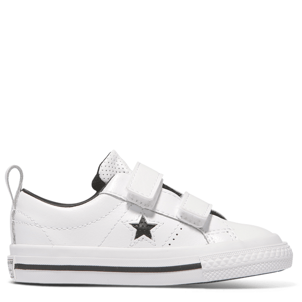 Converse Toddler 2V Low Leather White