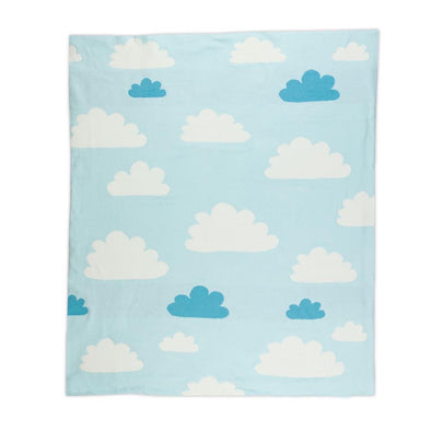 Weego Cotton Knit Blanket Sky High