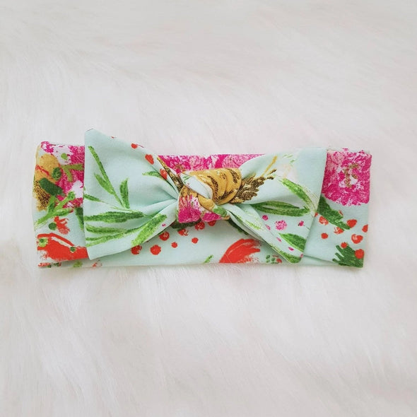 Summer Bouquet Bow Headband