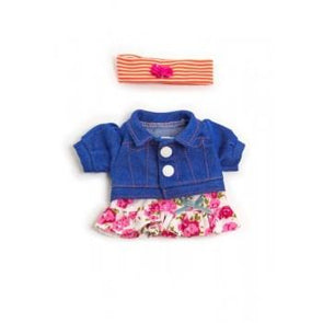 Miniland Clothing Spring Flower Set 21cm