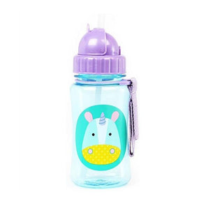 Skip Hop Straw Bottle Unicorn