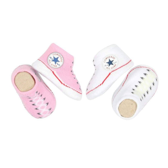Converse Knit Booties Pink/White