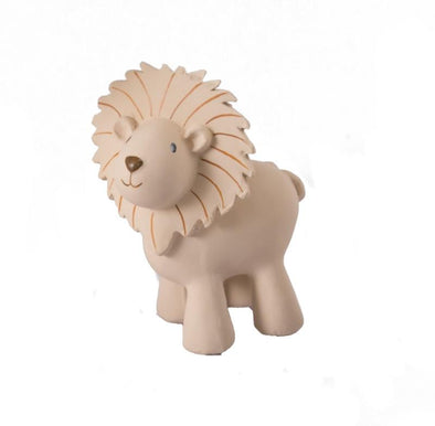 Lion Rubber Teether & Rattle