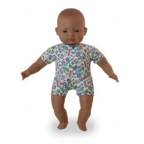 Miniland Soft Body Doll 40cm Latin Amercian