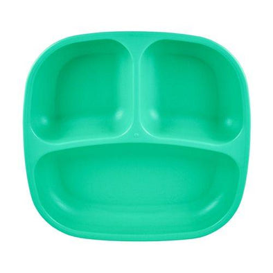 Replay Divided Plate Aqua