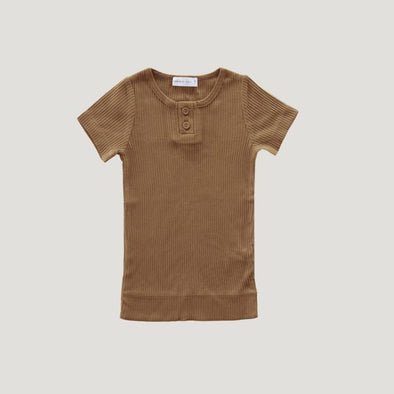 Jamie Kay Cotton Modal Tee Bronze