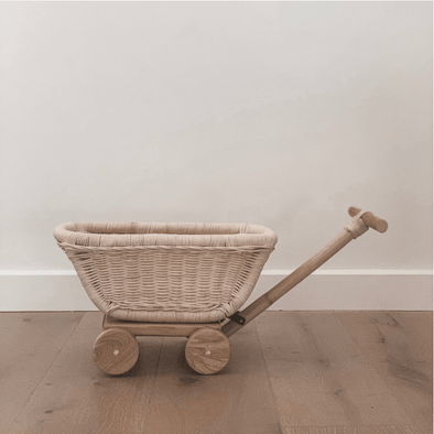 Tiny Harlow Rattan Toy Wagon
