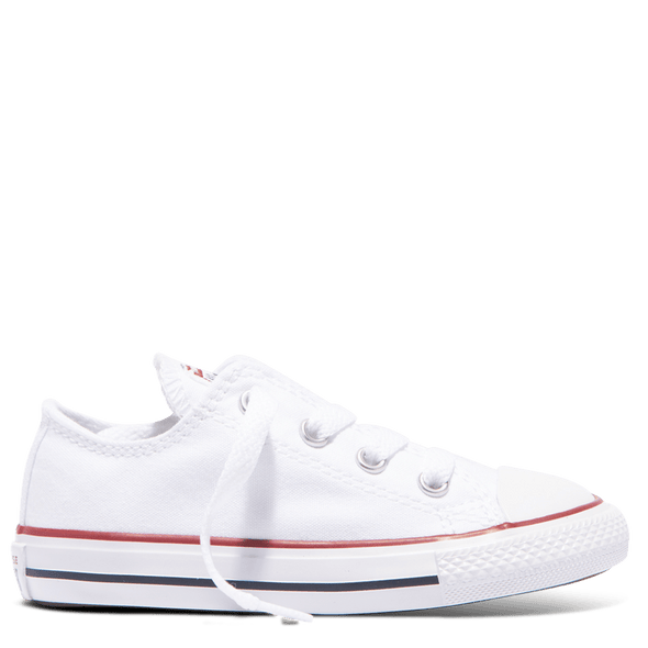 Converse Toddler Canvas Low Top White