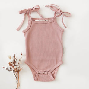 Karibou Kids Sienna Cotton Sunsuit Blush
