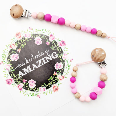 Hexi Dummy Chain Pinks