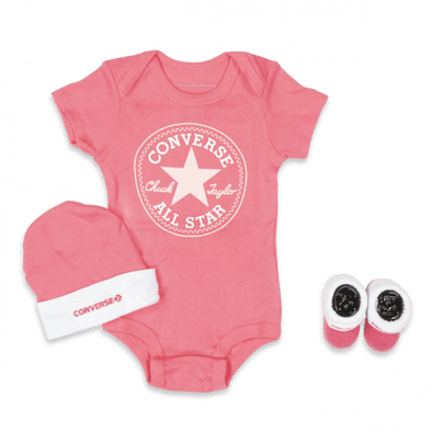Converse Newborn Classic 3pc Set Arctic Punch