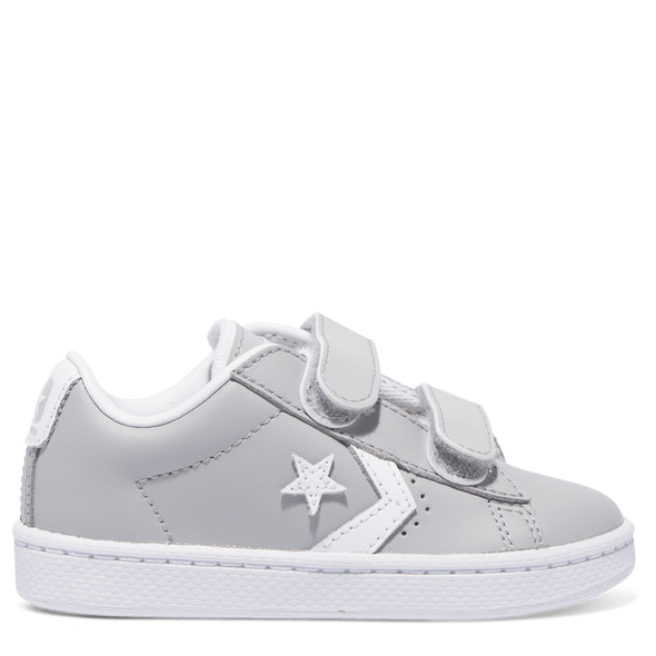 Converse Toddler Pro Leather 2V Low Wolf Grey