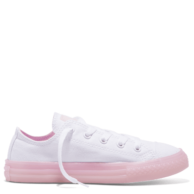 Converse Junior Low Top Translucent Cherry Blossom