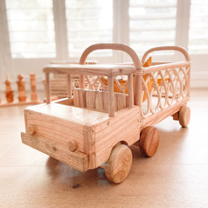 Tiny Harlow Rattan Toy Truck