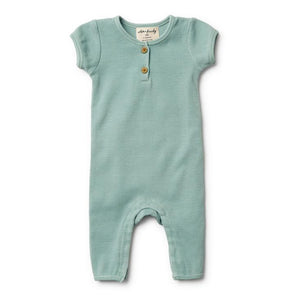 Wilson & Frenchy Sage Rib Growsuit