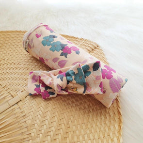 Flower Child Headband Swaddle Set