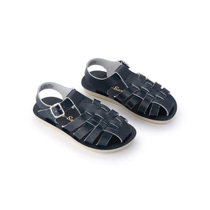 Salt Water Sun-San Sandals Sailor Navy