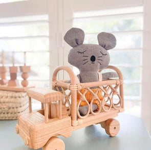 Tiny Harlow Small Rattan Toy Truck