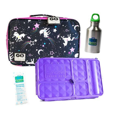 Go Green Original Lunch Box Set Magical Sky