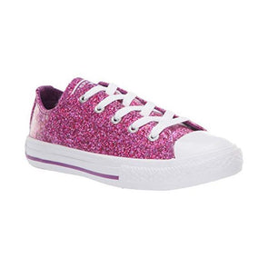 Converse Junior All Star Violet Glitter