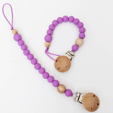 Scandi Dummy Chain Purple